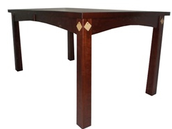 """Most Up To Date 110"""" X 46"""" Mixed Wood Shaker Dining Room Table Within Nazan 46'' Dining Tables (View 17 of 25)"""