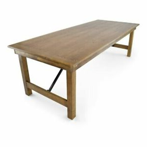 """Most Up To Date 40"""" X 96'' Solid Pine Folding Farm Dining Table In Rustic With Febe Pine Solid Wood Dining Tables (View 13 of 25)"""