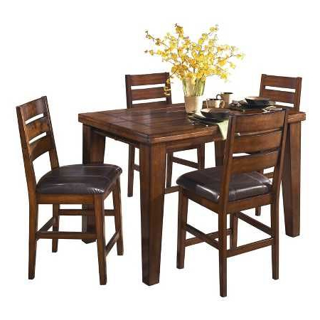 Most Up To Date Abby Bar Height Dining Tables For Hernwood Dining Table Brown – Threshold (View 6 of 25)