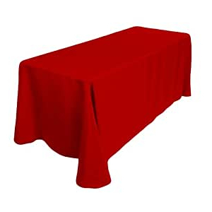 """Most Up To Date Amazon: New Creations Fabric & Foam Inc 84"""" Wide For Elite Rectangle 48"""" L X 24"""" W Tables (View 23 of 25)"""