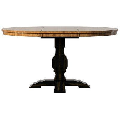 Most Up To Date Bradly Extendable Solid Wood Dining Tables Pertaining To Broadway Extendable Dining Table (View 19 of 25)