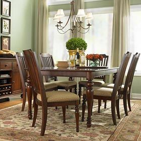 Most Up To Date Classic Dining Tables With Warrenton Rectangular Dining Tablebassett (View 25 of 25)