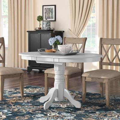 Most Up To Date Clippercover Extendable Solid Wood Rubberwood Dining Table With Rubberwood Solid Wood Pedestal Dining Tables (View 18 of 25)