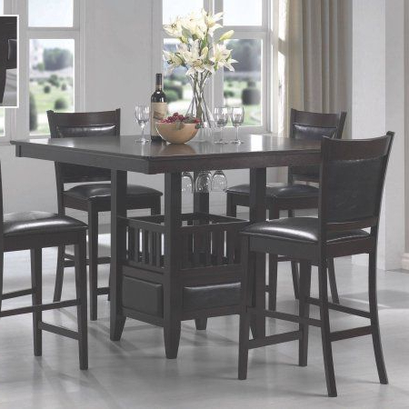 Most Up To Date Coaster Company Jaden Counter Height Dining Table # With Mciver Counter Height Dining Tables (View 12 of 25)