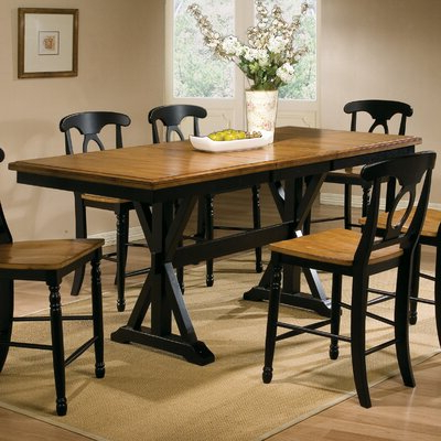 Most Up To Date Quails Run Counter Height Dining Table (View 2 of 25)