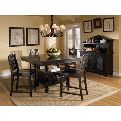 Nakano Counter Height Pedestal Dining Tables Inside Best And Newest Broyhill® Mirren Pointe Counter Height Dining Table (View 10 of 25)