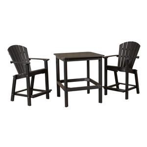 Nalan 38'' Dining Tables For Current Classic 38 Inch High Dining Table With Two 26 Inch High (View 5 of 25)