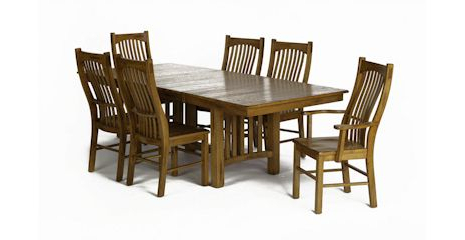 Nerida Trestle Dining Tables Intended For Latest Laurelhurst Dining Room Table – Bernie And Phyls (View 11 of 25)