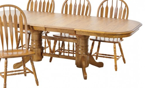 Nerida Trestle Dining Tables With Regard To Trendy Solid Oak Trestle Table – Dining Room (View 19 of 25)