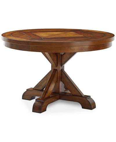 Neves 43'' Dining Tables Within Widely Used Closeout! Mandara Round Expandable Dining Trestle Table (View 21 of 25)