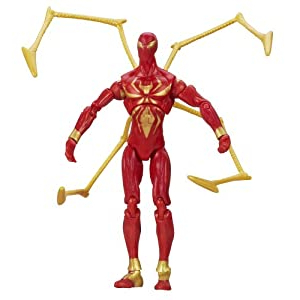 Newest 3 Games Convertible 80 Inches Multi Game Tables In Amazon: Marvel Universe Iron Spider Figure (View 10 of 25)