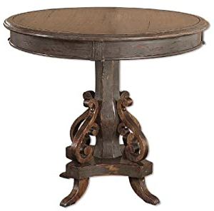 Newest Amazon: Uttermost Anya Round Table 32 Inches Round With Regard To Mcmichael 32'' Dining Tables (View 20 of 25)