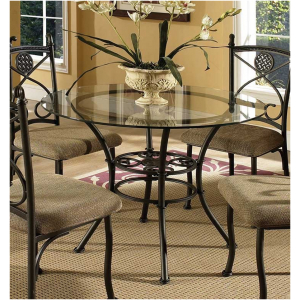 Newest Brookfield Glass Dining Tablesteve Silver Bk420gt B Intended For Pevensey 36'' Dining Tables (View 21 of 25)
