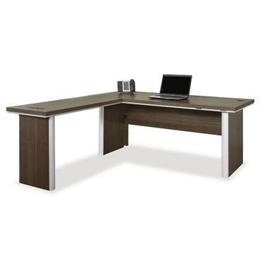 """Newest Metropolitan 72 Reversible L Shaped Desk // Nbf Signature Within 72"""" L Breakroom Tables And Chair Set (View 23 of 25)"""