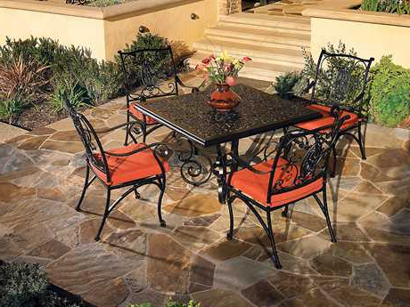 Featured Photo of Dellaney 35'' Iron Dining Tables