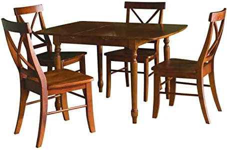 Newest Pevensey 36'' Dining Tables Regarding Amazon – International Concepts 3636 Inch (View 24 of 25)