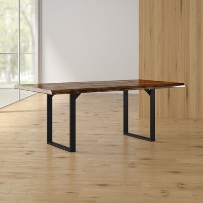 Newest Rectangular Rustic & Farmhouse Kitchen & Dining Tables You In Rishaan Dining Tables (View 8 of 25)