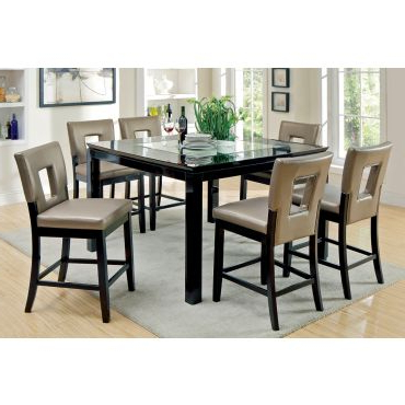 Newest Stanton Square Counter Height Dining Table Within Counter Height Dining Tables (View 7 of 25)