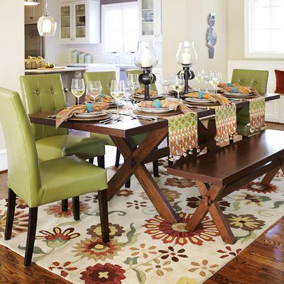 Nolan Extension Trestle Table – Tuscan Brown At Pier One Intended For Well Known Alexxia 38'' Trestle Dining Tables (View 8 of 25)