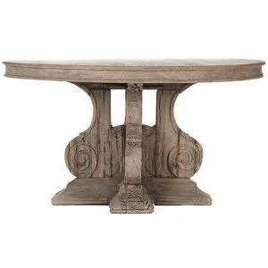 Old World Provence Pedestal Table (View 21 of 25)