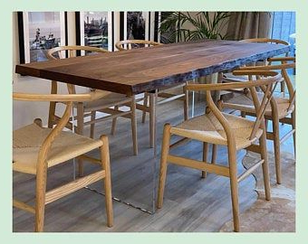 Omni Dining Table With Hairpin Legs Free Delivery (View 10 of 25)