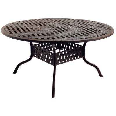 Outdoor Round Dining Table (View 2 of 25)