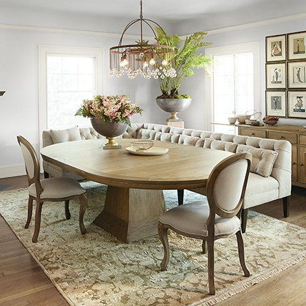 Oval Dining Room Table Throughout 2019 Genao 35'' Dining Tables (View 5 of 25)
