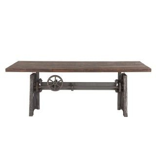 Overstock: Online Shopping – Bedding, Furniture With Well Liked Aulbrey Butterfly Leaf Teak Solid Wood Trestle Dining Tables (View 5 of 19)