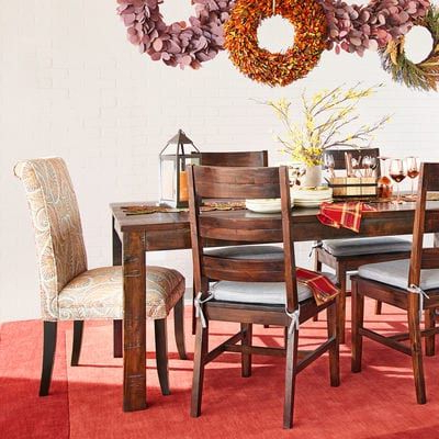 Parsons Tobacco Brown Dining Tables (View 17 of 25)