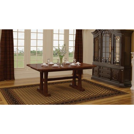 Pedestal Dining Tables With Popular Gateway 6 Foot Double Pedestal Dining Table (View 11 of 25)