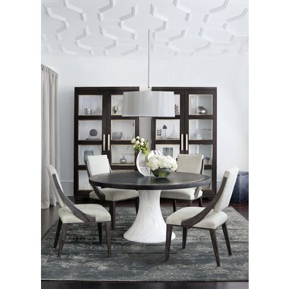 Perigold In Aulbrey Butterfly Leaf Teak Solid Wood Trestle Dining Tables (View 16 of 19)
