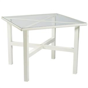 Pevensey 36'' Dining Tables In Favorite Woodard Elite 36 Inch Square Glass Dining Table (View 10 of 25)