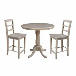 """Pevensey 36'' Dining Tables Intended For Well Known 36"""" Round Extension Dining Table (View 11 of 25)"""