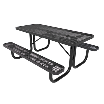 Plastic Coated Steel Picnic Tables (View 5 of 25)