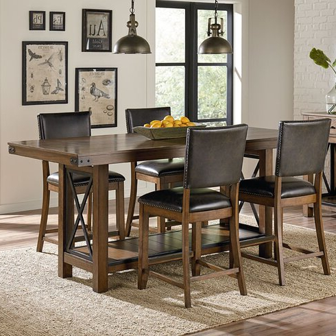 Featured Photo of Eduarte Counter Height Dining Tables