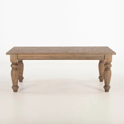 Popular Furniture Classics Pine Solid Wood Dining Table (View 7 of 19)