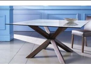 Popular Genao 35'' Dining Tables Throughout Used 8 Seater Harvey Norman Dining Table (View 16 of 25)