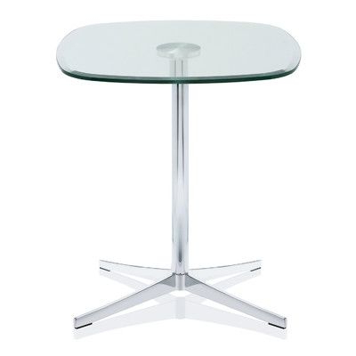 Featured Photo of Collis Round Glass Breakroom Tables