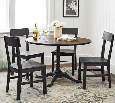 Pottery Barn Pertaining To Pedestal Dining Tables (View 7 of 25)