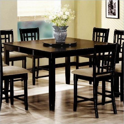 Preferred 101898nset5 Geneva 5pc Counter Height Dining Set (table Inside Dallin Bar Height Dining Tables (View 7 of 25)