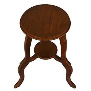Preferred Amazon: Exp Handmade Furniture 24 Inch Round Teak Wood Inside Adsila 24'' Dining Tables (View 8 of 25)
