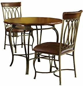 Preferred Amazon – Hillsdale Montello Round Dining Table, 36 Within Pevensey 36'' Dining Tables (View 16 of 25)