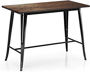 Preferred Amazon: Vipek Counter Height Dining Table Bar Table Inside Isak (View 2 of 25)