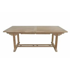 Preferred Aulbrey Butterfly Leaf Teak Solid Wood Trestle Dining Tables Intended For Anderson Teak Bahama 10 Foot Rectangular Extension Table (View 19 of 19)