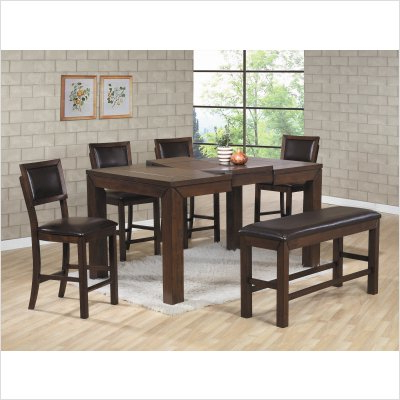 Preferred Chapman Counter Height Rectangular Dining Table In Coffee With Hearne Counter Height Dining Tables (View 10 of 25)