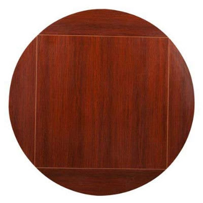 """Preferred Collis Round Glass Breakroom Tables In Oak Street Mb4242flip60 M 42"""" Square To 60"""" Round Flip (View 5 of 25)"""