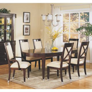 Preferred Dixon 29'' Dining Tables Within Dark Cherry Oval Dining Table With 20 Inch Leaf $ (View 24 of 25)