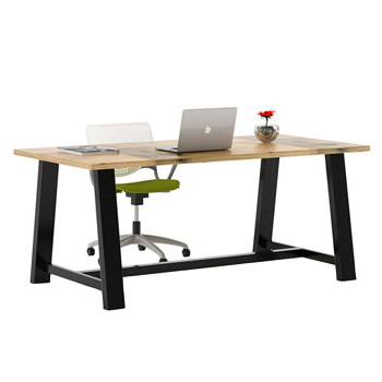 Featured Photo of Midtown Solid Wood Breakroom Tables