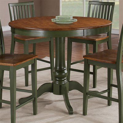 Featured Photo of Andrelle Bar Height Pedestal Dining Tables