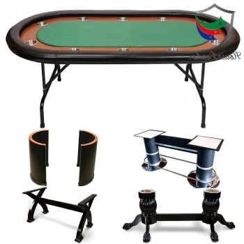 """Professional High Quality 10 Player Luxury Custom Inside Widely Used 48"""" 6 – Player Poker Tables (View 6 of 25)"""